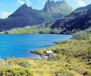 Puzle Reserva natural na Tasmânia, Austrália
