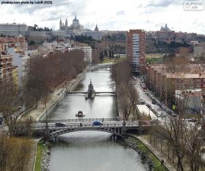 Puzle Rio Manzanares, Madrid
