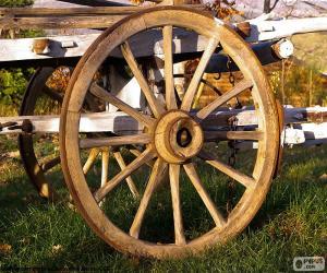 Puzle Roda de carroça