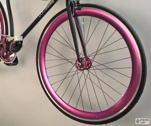 Puzle Roda dianteira da bicicleta