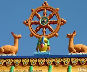 Puzle Roda do Dharma