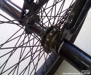 Puzle Roda traseira de BMX
