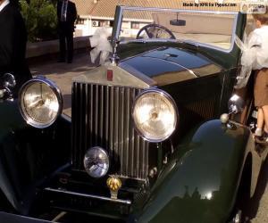 Puzle Rolls-Royce nupcial