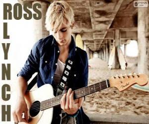 Puzle Ross Lynch, cantor, ator, dançarino e instrumentista norte-americano