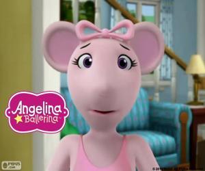 Puzle Rosto da Angelina Ballerina