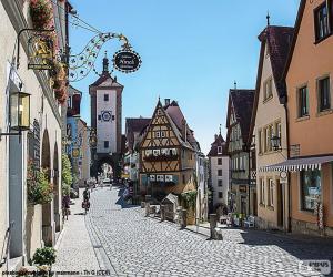 Puzle Rothenburg, Alemanha