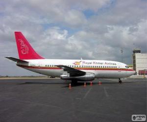 Puzle Royal Khmer Airlines foi uma aeroliniea do Camboja (2000-2004)