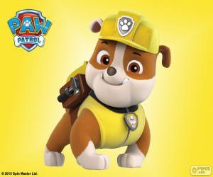 Puzle Rubble, Paw Patrol