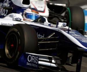Puzle Rubens Barrichello - Williams - Hockenheim 2010