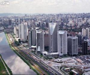 Puzle São Paulo, Brasil