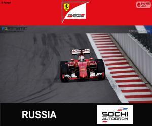 Puzle S. Vettel G.P da Rússia 2015