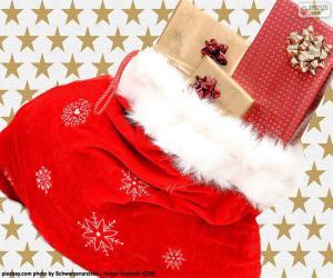 Puzle Saco de Natal