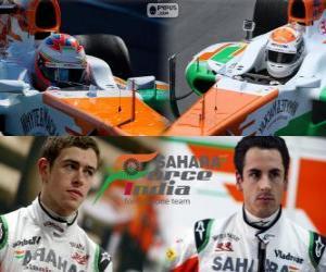Puzle Sahara Force India F1 Team 2013