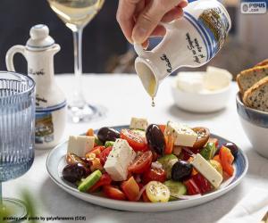 Puzle Salada grega