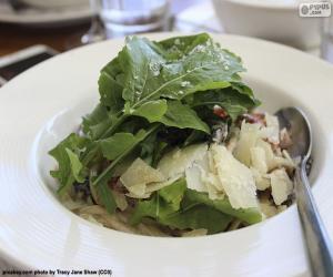Puzle Saladas de folhas verdes