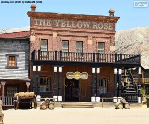 Puzle Saloon Oeste