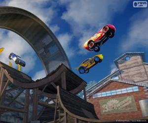 Puzle Salto, Carros 3 o jogo de vídeo