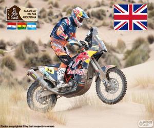 Puzle Sam Sunderland, Dakar 2017