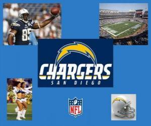Puzle San Diego Chargers