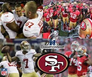 Puzle San Francisco 49ers campeão NFC 2012