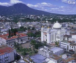 Puzle San Salvador, El Salvador