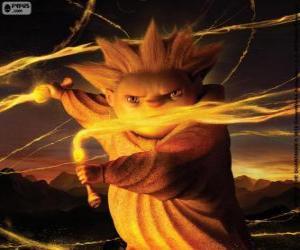 Puzle Sandman, o guardião dos sonhos. O filme da DreamWorks, A Origem dos Guardiões