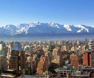 Puzle Santiago, Chile