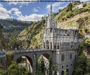 Puzle Santuário de Las Lajas, Colômbia