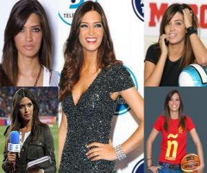 Puzle Sara Carbonero é jornalista esportivo espanhol.