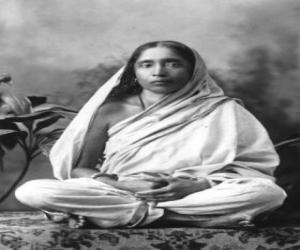 Puzle Sarada Devi, esposa e companheira de espiritual Ramakrishna Paramahamsa