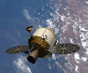 Puzle Satélite artificial, Orion