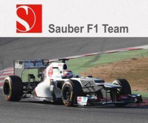 Puzle Sauber C31 - 2012 -