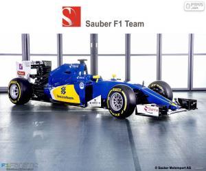 Puzle Sauber F1 Team 2016