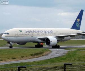 Puzle Saudia Airlines