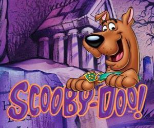 Puzle Scooby Doo com o logo