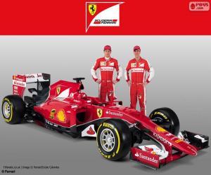 Puzle Scuderia Ferrari 2015