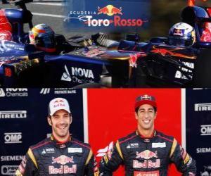Puzle Scuderia Toro Rosso 2013