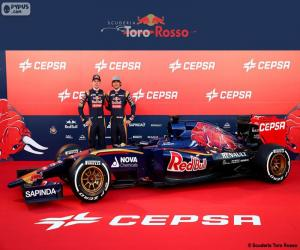 Puzle Scuderia Toro Rosso 2015