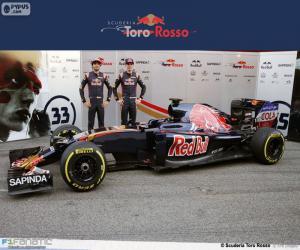 Puzle Scuderia Toro Rosso 2016