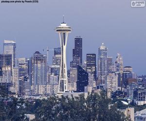 Puzle Seattle, Estados Unidos