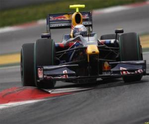 Puzle Sebastian Vettel pilota seu F1