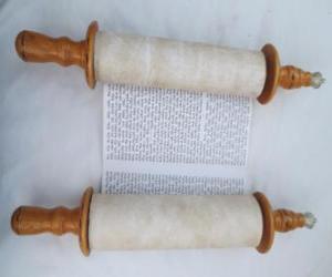 Puzle Sefer Torah, um rolo de Torá