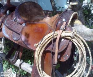 Puzle Sela western com laço