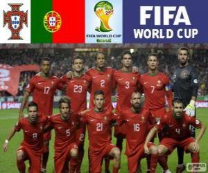 Puzle Seleção de Portugal, Grupo G, Brasil 2014