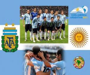 Puzle Seleção da Argentina, Grupo A, Argentina 2011