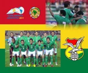 Puzle Seleção da Bolívia, Grupo A, Argentina 2011