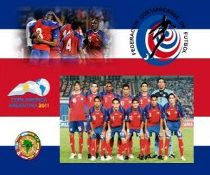 Puzle Seleção de Costa Rica, Grupo A, Argentina 2011