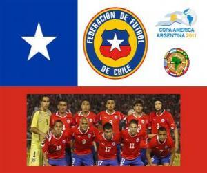 Puzle Seleção do Chile, Grupo C, Argentina 2011