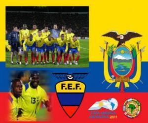Puzle Seleção do Equador, Grupo B, Argentina 2011