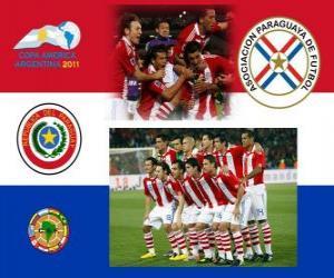 Puzle Seleção do Paraguai, Grupo B, Argentina 2011